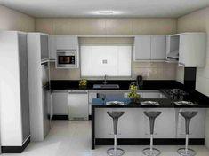 Resultado de imagem para cozinha simples #Modelosdecasas