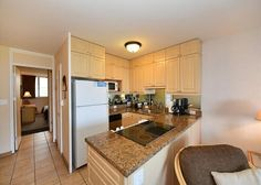 1603117 Hale Kai Honokowai West Maui Vacation Condo Rental Oceanfront | Maui Hawaii Vacations Fully Equipped Kitchen
