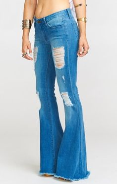 Shop the trendiest flare jeans from Show Me Your Mumu on Keep!