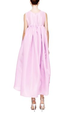 M'O Exclusive: Violet Beauregard Silk-Organza Dress by Ellery - Moda Operandi