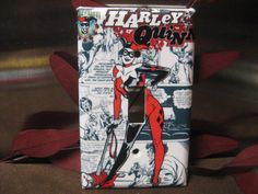 Harley Quinn Light Switch Wall Plate Cover by SerendipityzBoutique