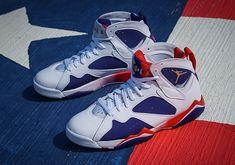 "#sneakers #news  Tinker Hatfield's Alternate Design For The Air Jordan 7 ""Olympic"" Releases Soon"