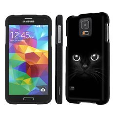 NakedShield Samsung Galaxy S5 S 5 (Cute Cat Eye) Total Hard Armor LifeStyle Phone Case:Amazon:Cell Phones & Accessories