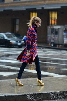 Get ready... for street style. #nyfw