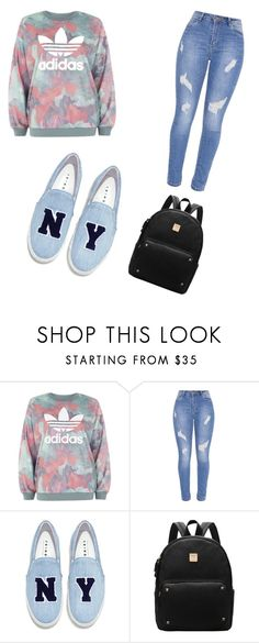 """""""Untitled #92"""" by jalyka on Polyvore featuring adidas and Joshua's"""