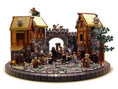 LEGO Robin Hood Scene