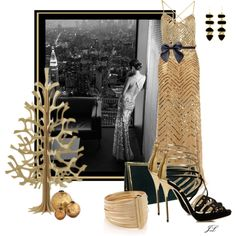 """All That Glitters"" by jenalind on Polyvore $375"