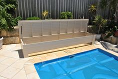 Do you have an above ground pool & need to hide your pool cover & kids toys? Ph Pool Blanket Boxes (08) 9250 6872, for custom made pool storage boxes.