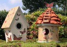 How to Decoupage Birdhouses : Decorating : Home & Garden Television