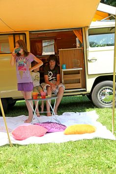 Vintage Camper Fun