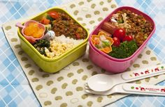 A loving lunch: Colorful bentō boxed lunches are a staple of any child's diet in Japan.    MAKIKO ITOH