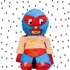 Our Luchador piñata would be a great addition to your next fiesta!Orders are handcrafted in southern California upon order and take between weeks to process. How To Make Pinata, Nacho Libre, 10th Birthday Parties, Smurfs, Southern California, Party Ideas, Wrestling, Wrestling Birthday, Fiestas