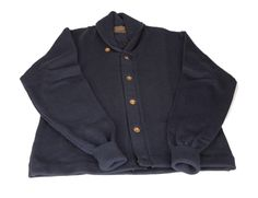 Shawl-collar cardigan from Archival Clothing