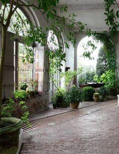 Axel Vervoordt Indoor - All For Garden Outdoor Spaces, Outdoor Living, Outdoor Decor, Backyard Greenhouse, Greenhouse Ideas, Cheap Greenhouse, Homemade Greenhouse, Portable Greenhouse, Casa Patio