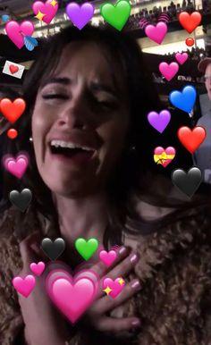 Trendy Ideas For Memes Heart Camila Cabello Heart Pictures, Meme Pictures, Reaction Pictures, Memes Funny Faces, Kid Memes, Kermit, Fifth Harmony, Mom Humor, Girl Humor