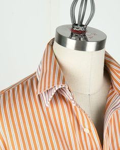 Double collar upcycle Michelle Paganini - /skirkland2/recycling-fabric-for-clothes-and-lots-of-other-stu/   BACK!! - #Recycle - #Recycle Men Shirt