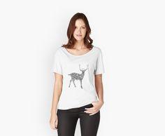 Silk blouse Agatha Disney with apple print