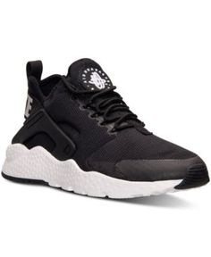 74f7918dc73148 Nike Women s Air Huarache Run Ultra Running Sneakers from Finish Line    Reviews - Finish Line Athletic Sneakers - Shoes - Macy s