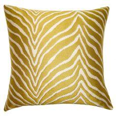 Square Feathers Peacock Untamed Pillow Size: x Gold Decorative Pillows, Handmade Pillows, Sunbrella Pillows, Cushions, Yellow Throw Pillows, Pillows Online, Fine Linens, Cushion Pads, Wool Area Rugs