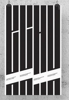 오늘의 디자인 2 - 스퀘어 카테고리 Graphic Design Letters, Graphic Design Typography, Lettering Design, Graphic Design Inspiration, Poster Fonts, Type Posters, Typographic Poster, Cover Design, Design Movements