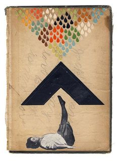 Collage and Paper, red-lipstick:   Hollie Chastain - 1: Overcome,...