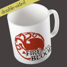 Game of Thrones Inspired Fire and Blood