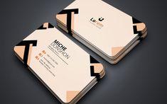 Miche Donshon Multi Colours Business Card Corporate Identity Template