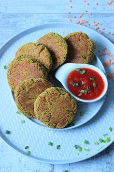 Kotlety z czerwonej soczewicy - wegańskie i bezglutenowe | Tysia Gotuje blog kulinarny