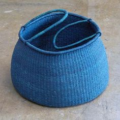 // blue Accra basket