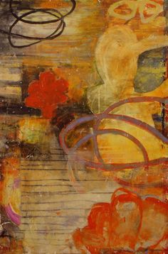 Bill Gingles - Rhapsody 36 x 24 acrylic on canvas