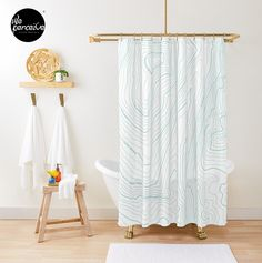 - Fits most standard size tubs and showers  - 12 button holes (shower hooks not included)  - Liner not included - Made from 100% Polyester  - Vivid, full color print on front, white on back  🔹💜 #weperceivestyle #showercurtain #whiteshowercurtain #minimallove #psychology #desire #needs #human #contour #maslow #bathroomideas #bathroomdecor #bathroomstyle #futurequote #bathroomstyling #bathtime #bathtimefun #showertime #quotedesign #designforliving #designlovers #livingproducts