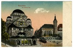 My grandmothers synagogue - Neue Synagoge (New Synagogue) in Essen, Germany. Now the Alte Synagoge (Old Synagogue). I think c 1929