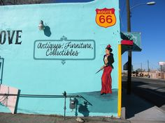 Old Route 66 in Albuquerque, NM...photo by author