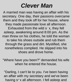 Clever Man - Funny Story !!!