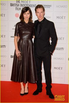 benedict cumberbatch keira knightley bring their significant others british awards 01 Benedict Cumberbatch hits the red carpet with his fiancee Sophie Hunter at The Moet British Independent Film Awards held at Old Billingsgate Market on Sunday (December…