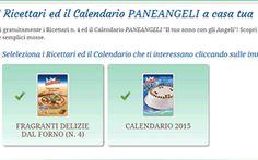 Richiedi il calendario Paneangeli 2015 gratis! #calendari2015 #paneangeli #ricettari