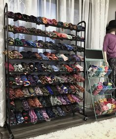 LuLaRoe Leggings Display-Shoe rack from Costco