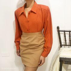 Vintage Tops, High Waisted Skirt, February, Fashion, Moda, High Waist Skirt, Fashion Styles, Fashion Illustrations