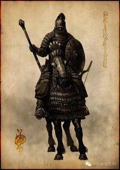 插畫師筆下的女真重裝騎兵:鐵浮屠 - 壹讀