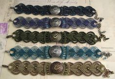 Knot Just Macrame: Colorful Dragon Bracelets in Micro Macrame