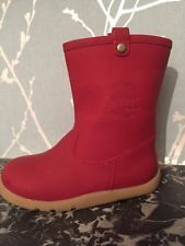 Bobux Splash Boots Red Size Eu 23 Gb 6 Jnr Little Girls Boots Toddlers
