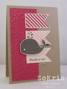 Stampin' Up! Card - I'm sooo going to make this one for my best girl !