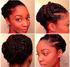 Hair CHALLENGES: Idées de coiffure sur les cheveux crépus