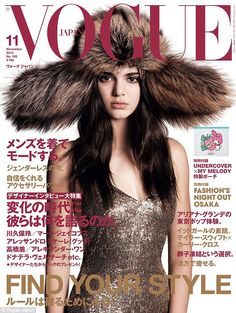 Kendall Jenner lands Vogue's most coveted cover