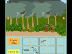 out of the forest escape walkthrough: In this game, you try to escape the room by finding items and solving puzzles.
