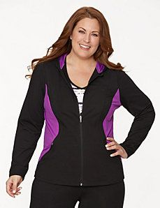 6573f83f638 Active hoodie with mesh sides Sporty Style