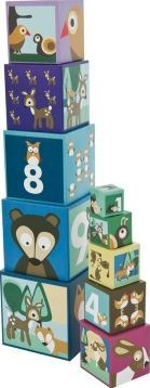Sebra Blue Stacking blocks in heavy carton `One size Cubes can be placed one inside another, Comes in box with handle Details : 10 cubes, 4 different face on each cube, 1 animal side, 1 illustrated numbers side, 1 numbers side, 1 forest illustration sid http://www.comparestoreprices.co.uk/january-2017-7/sebra-blue-stacking-blocks-in-heavy-carton-one-size.asp