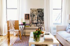 Small Space Design Tips From NYC Pros #refinery29