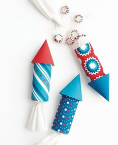 4th of July candy poppers plus tons of other crafts for kids from Martha stewart new book