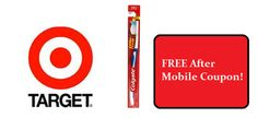 Target:  Free Colgate Toothbrush after $1 off Mobile Coupon!